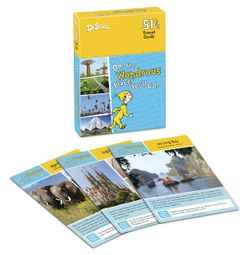 Oh the Wondrous Places You'll Go! Travel Card Game