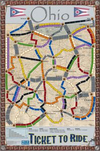 Ohio (fan expansion to Ticket to Ride)