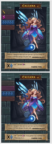 One Deck Dungeon: Caliana