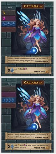 One Deck Dungeon: Caliana