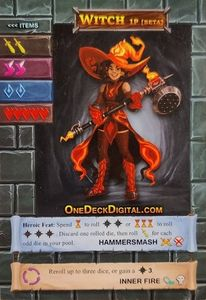 One Deck Dungeon: Witch