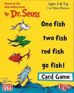 One Fish Two Fish Red Fish Go Fish! Card Game