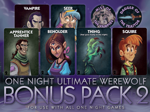 One Night Ultimate Werewolf: Bonus Pack 2