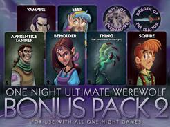 One Night Ultimate Werewolf: Bonus Pack 2