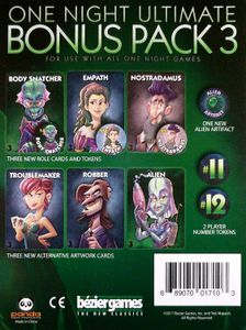 One Night Ultimate Werewolf: Bonus Pack 3