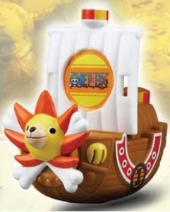 One Piece's Thousand Sunny Treasure Search