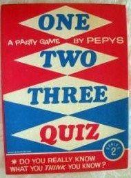 One Two Three Quiz
