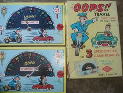 OOPS!! Travel Card Game