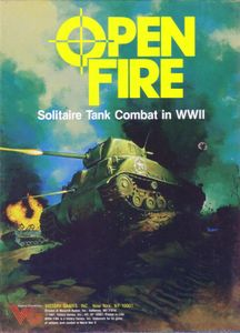 Open Fire: Solitaire Tank Combat in WWII