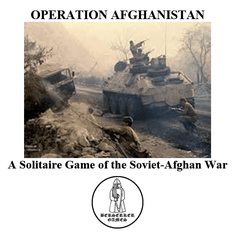 Operation Afghanistan: A Solitaire Game of the Soviet-Afghan War