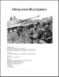 Operation Blitzkrieg