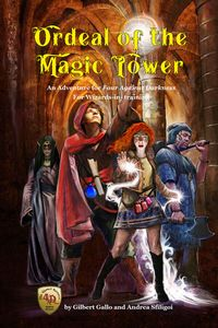Ordeal of the Magic Tower: An Adventure for Four Against Darkness