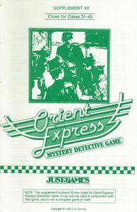 Orient Express Supplement #3