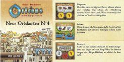 Orléans: Neue Ortskarten N°4