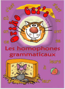 Ortho Cat's 2: Les homophones grammaticaux