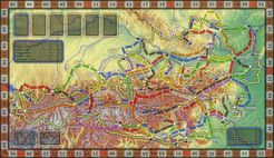 Österreich Karte: Zug um Zug (fan expansion for Ticket to Ride)