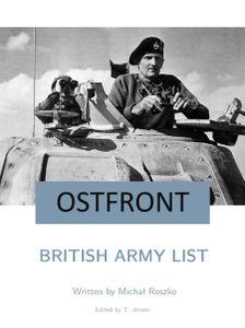 Ostfront: British Army List
