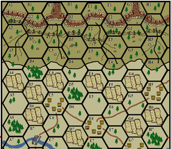 OUTPOST WAR: A Solitaire Game of Combat in the Hills of Korea (1951-1953).