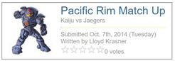 Pacific Rim Matchup