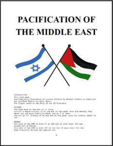 Pacification of the Middle East