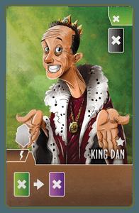 Paladins of the West Kingdom: King Dan