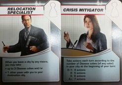 Pandemic: Survival Promos – Crisis Mitigator/Relocation Specialist