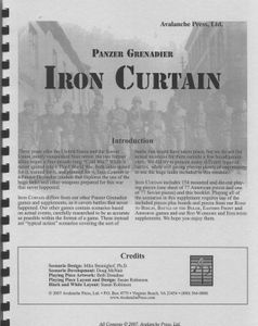 Panzer Grenadier: Iron Curtain