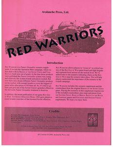 Panzer Grenadier: Red Warriors