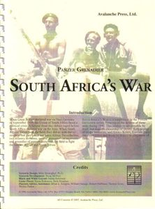 Panzer Grenadier: South Africa's War