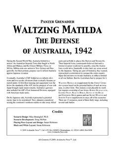 Panzer Grenadier: Waltzing Matilda