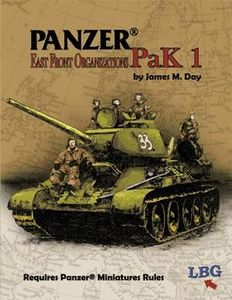 Panzer Pak 1: East Front Organizations