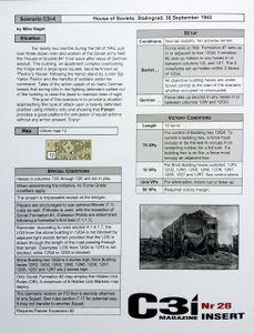 Panzer (second edition): C3i #28 Scenarios