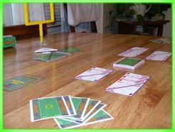 Paper Football Card Game