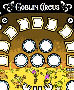Paper Pinball: Goblin Circus