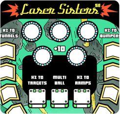 Paper Pinball: Laser Sisters