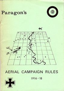 Paragon's Aerial Campaign Rules 1916-18