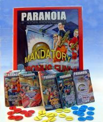 Paranoia Mandatory Card Game Expansion: Secret Societies