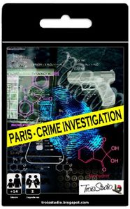 Paris: Crime Investigation – Card Game