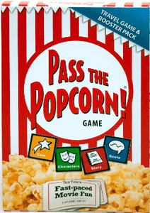 Pass the  Popcorn Travel Game and Booster Pack
