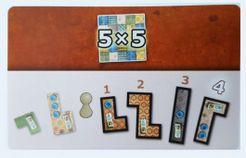 Patchwork: 5x5 Bonuskarte