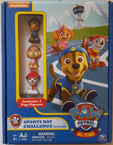 Paw Patrol: Sports Day Challenge Path Game