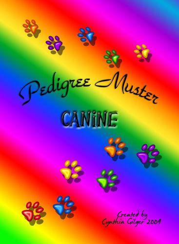 Pedigree Muster: Canine