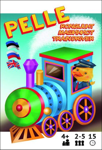 Pelle the Train driver