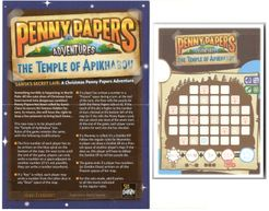Penny Papers Adventures: The Temple of Apikhabou – Santa's Secret Lair