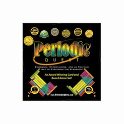 Periodic Quest: Card and Board Game Set