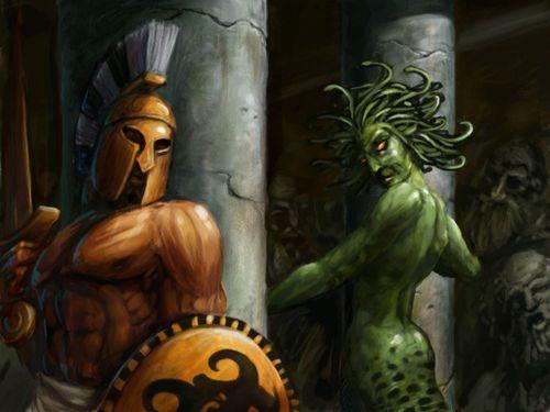 Perseus and the Sanctum of the Medusa