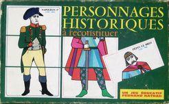 Personnages Historiques a Reconstituer