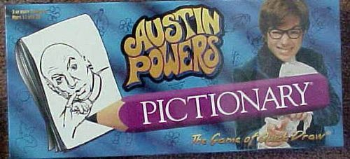 Pictionary: Austin Powers