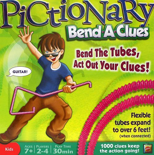 Pictionary Bend-A-Clues