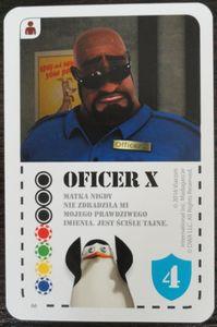 Pingwiny z Madagaskaru: Oficer X